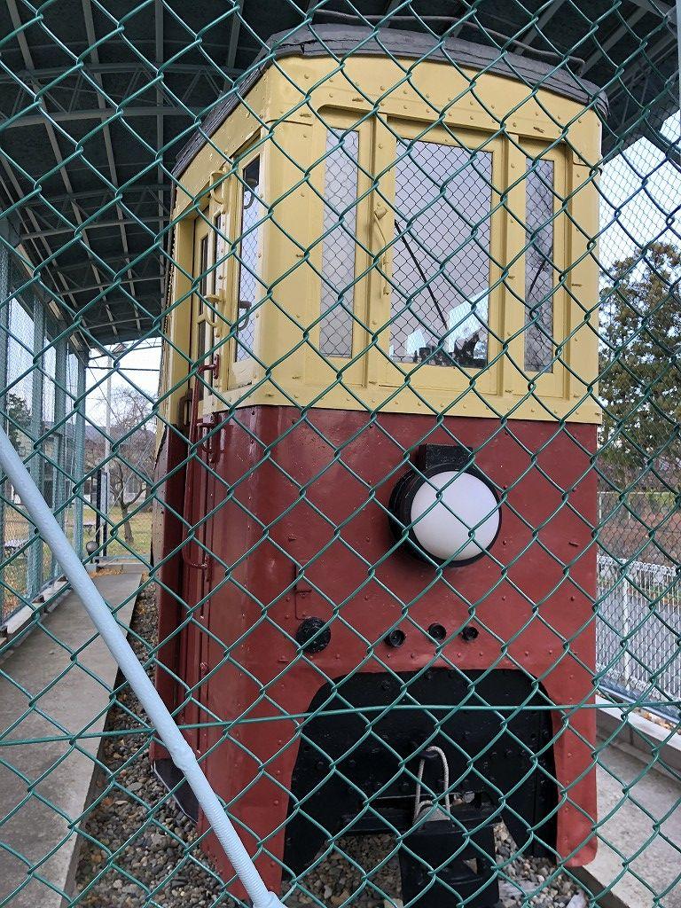 花巻の材木町公園の馬面電車2