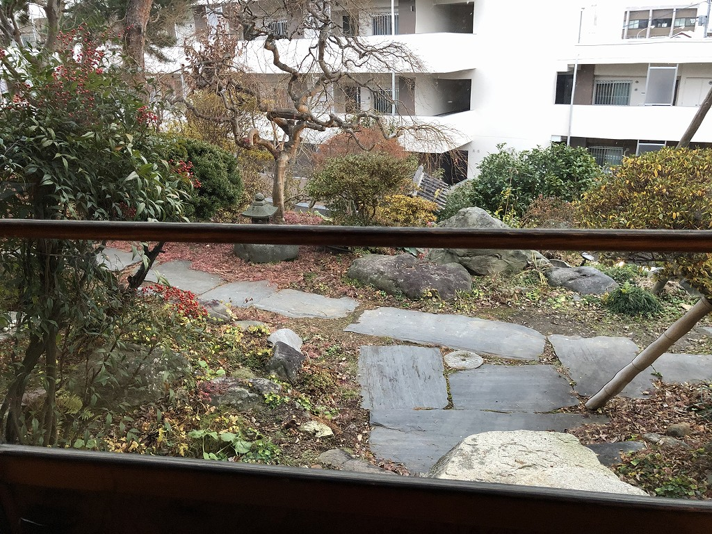 花巻の茶寮かだんの庭1