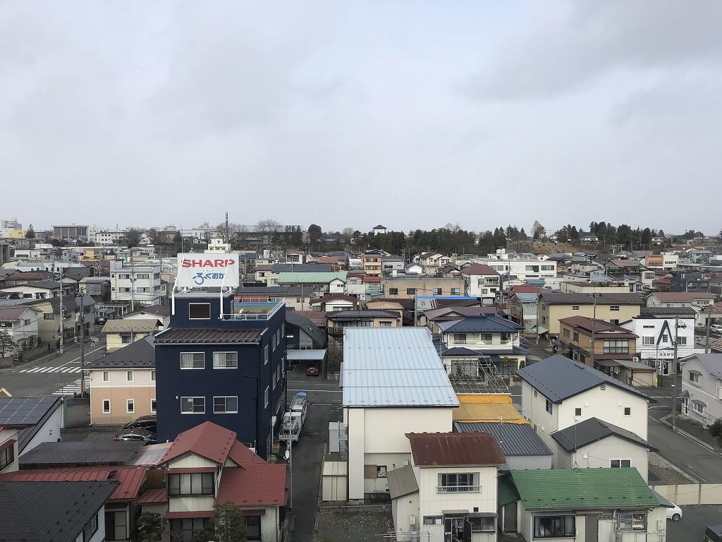 花巻のホテル花城からの眺め1