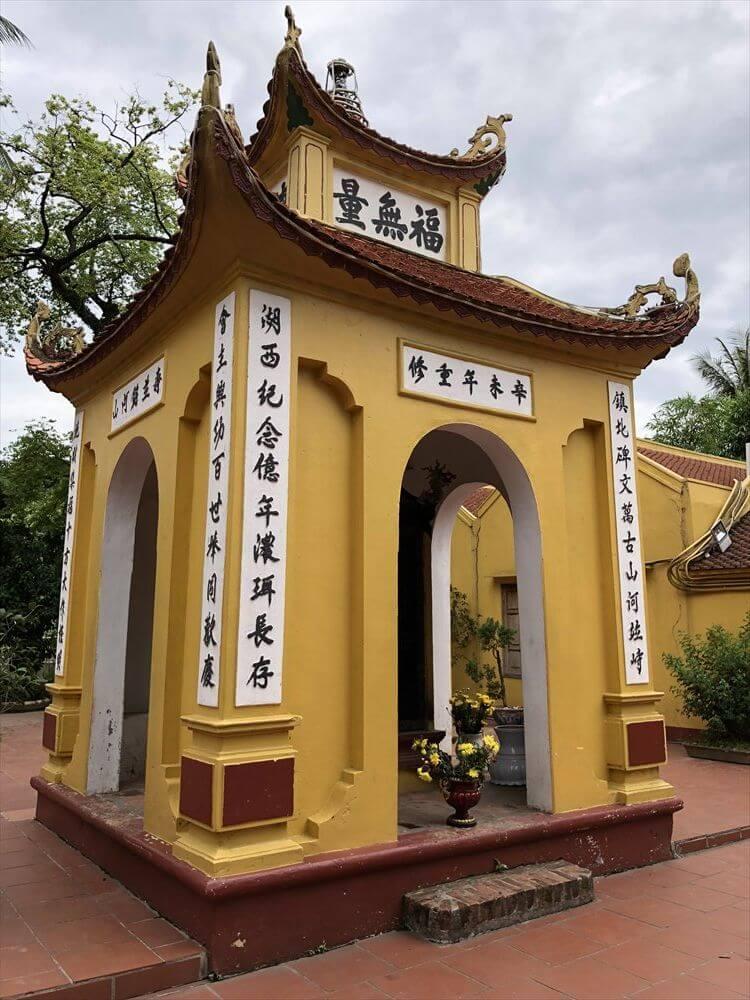 ハノイの鎮国寺の建物
