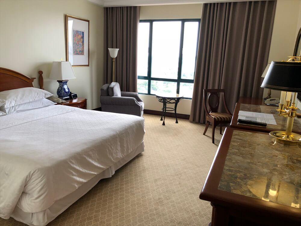 シェラトンハノイホテルのクラブルーム1