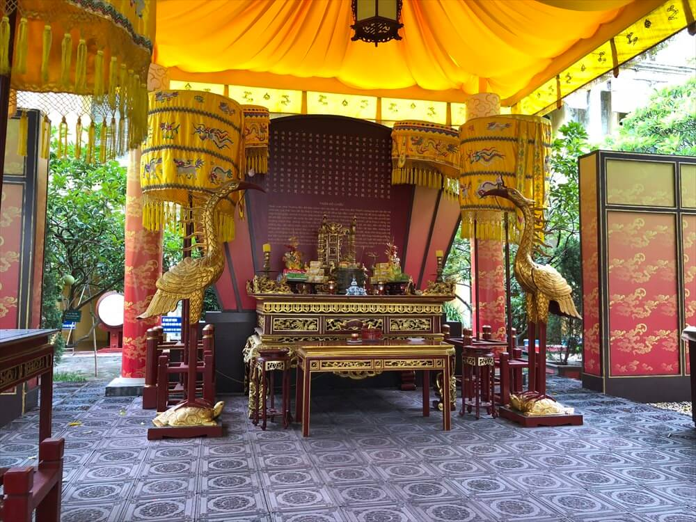 タンロン遺跡の皇帝の祭壇