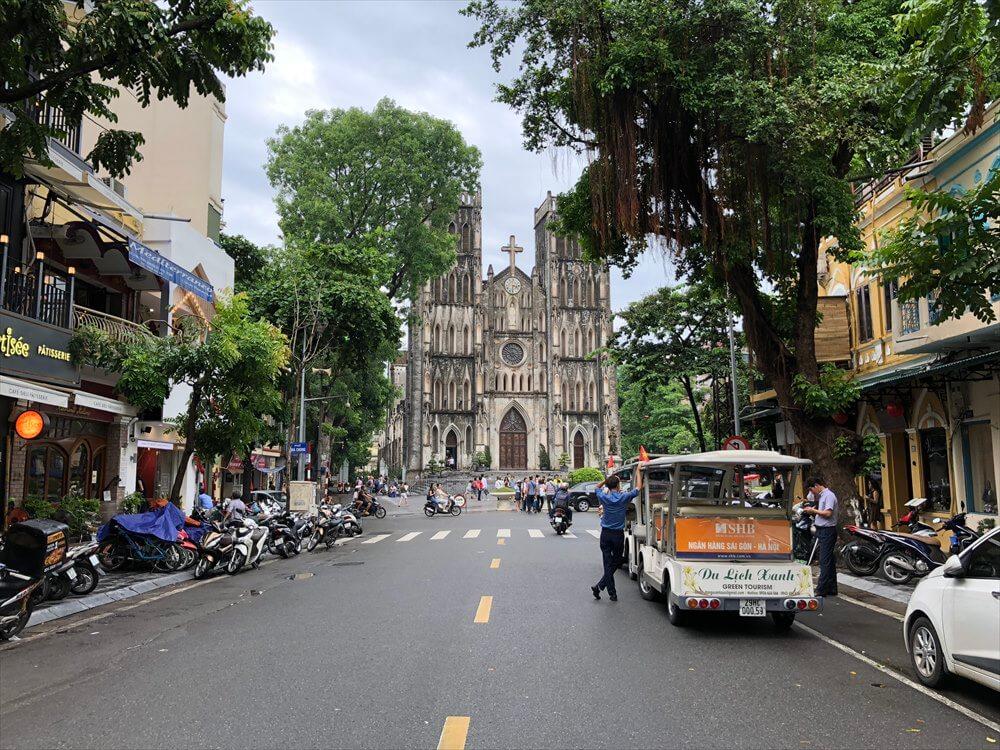 ハノイ大教会1
