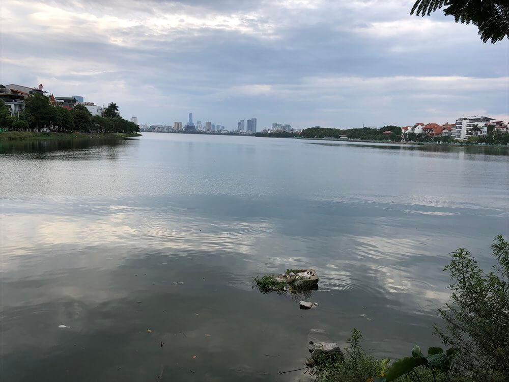 タイ湖の風景