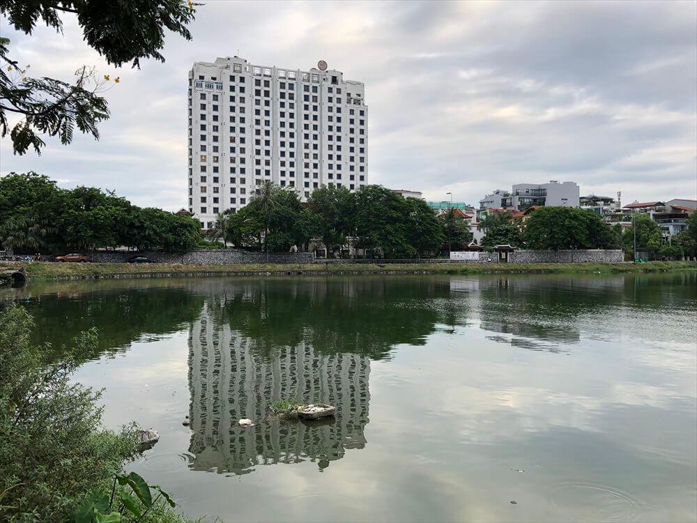 タイ湖畔のシェラトンハノイホテル