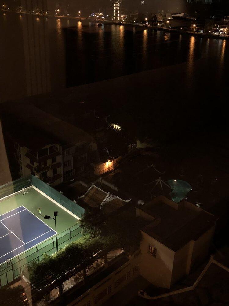 シェラトンハノイホテルのテニスコート