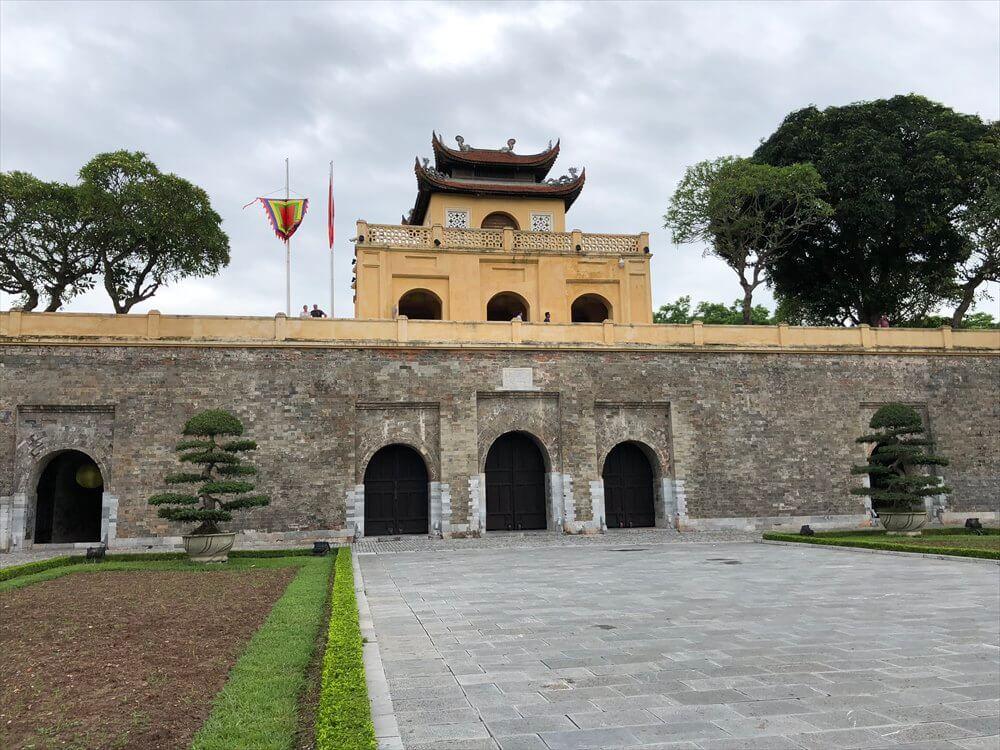 タンロン遺跡のドアン門(端門)2