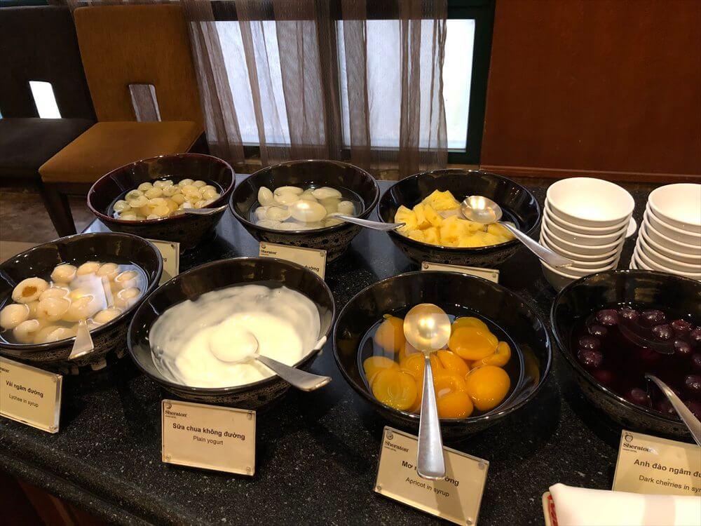 シェラトンハノイホテルの朝食(3日目)2