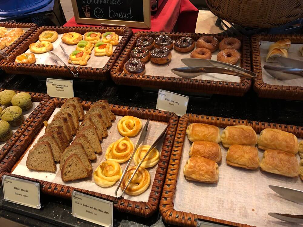 シェラトンハノイホテルの朝食(3日目)3