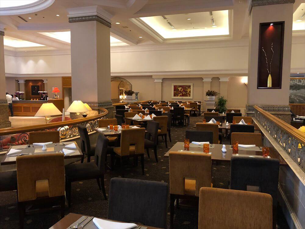 シェラトンハノイホテルの朝食会場