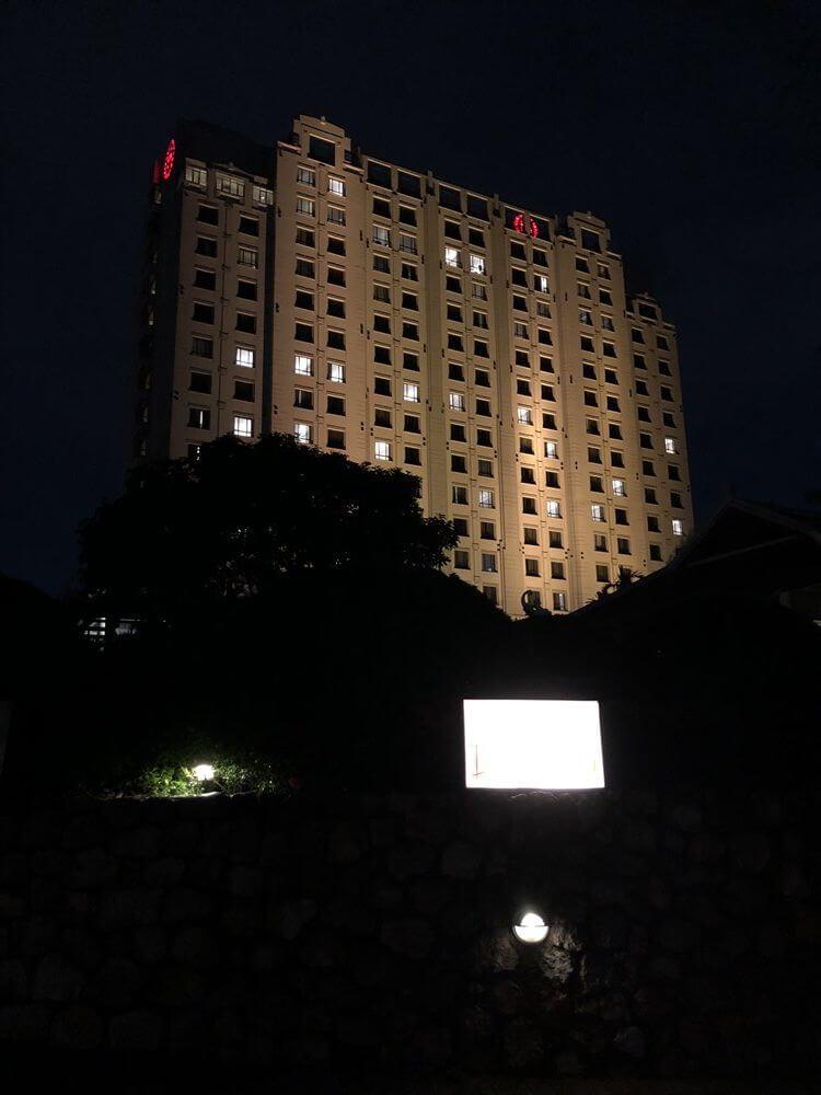 夜のシェラトンハノイホテル