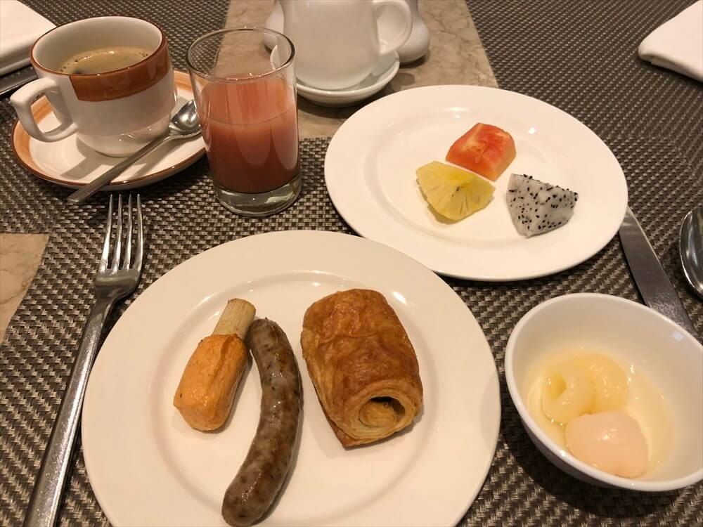 シェラトンハノイホテルの朝食(3日目)