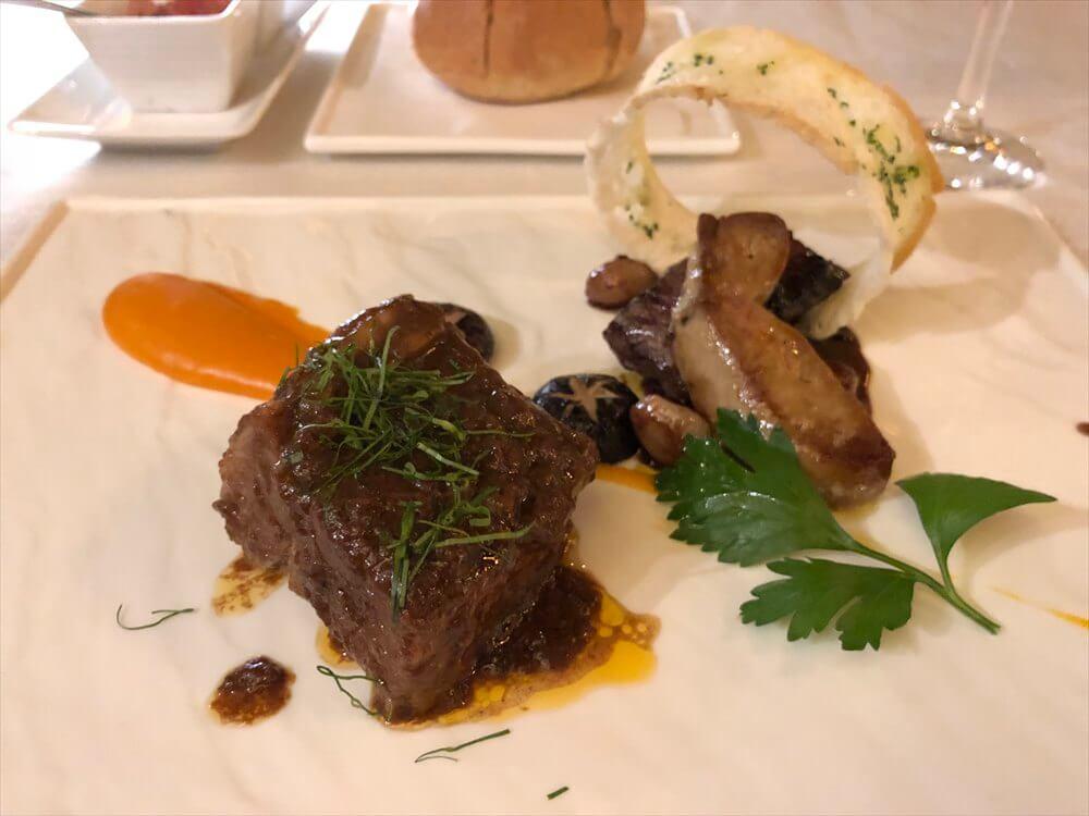 シェラトンハノイホテルの「Hemisphere」の料理4