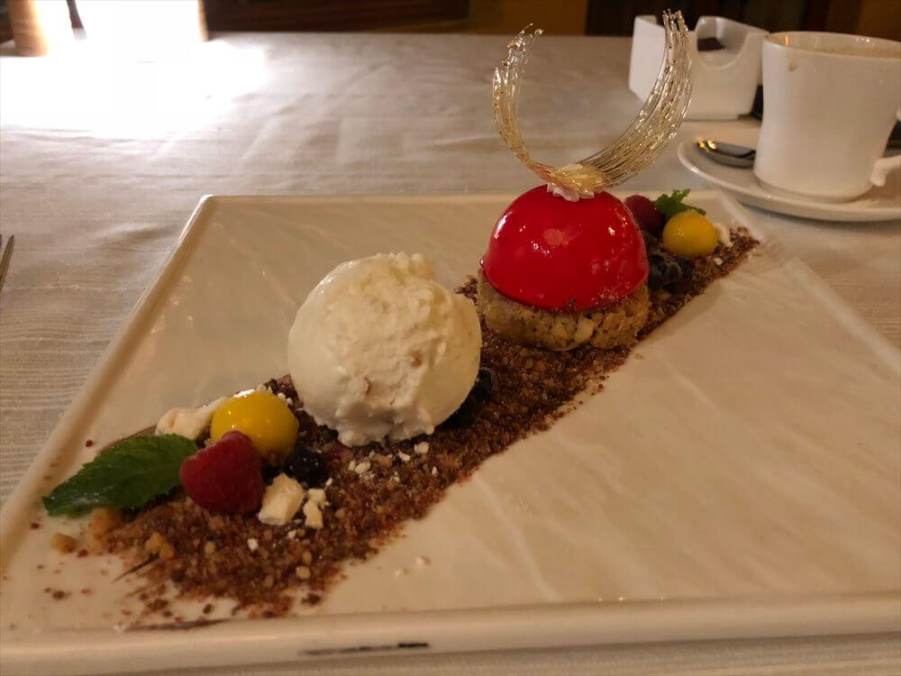 シェラトンハノイホテルの「Hemisphere」の料理5