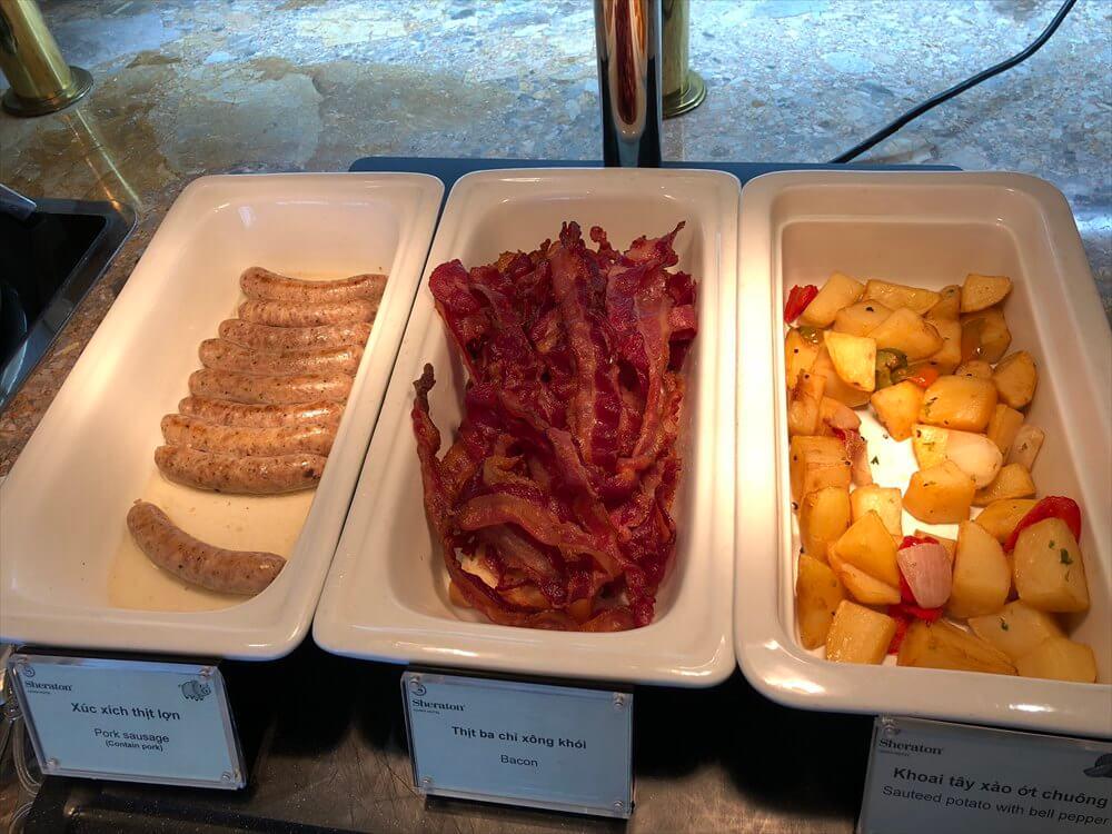 シェラトンハノイホテルのクラブラウンジの朝食5