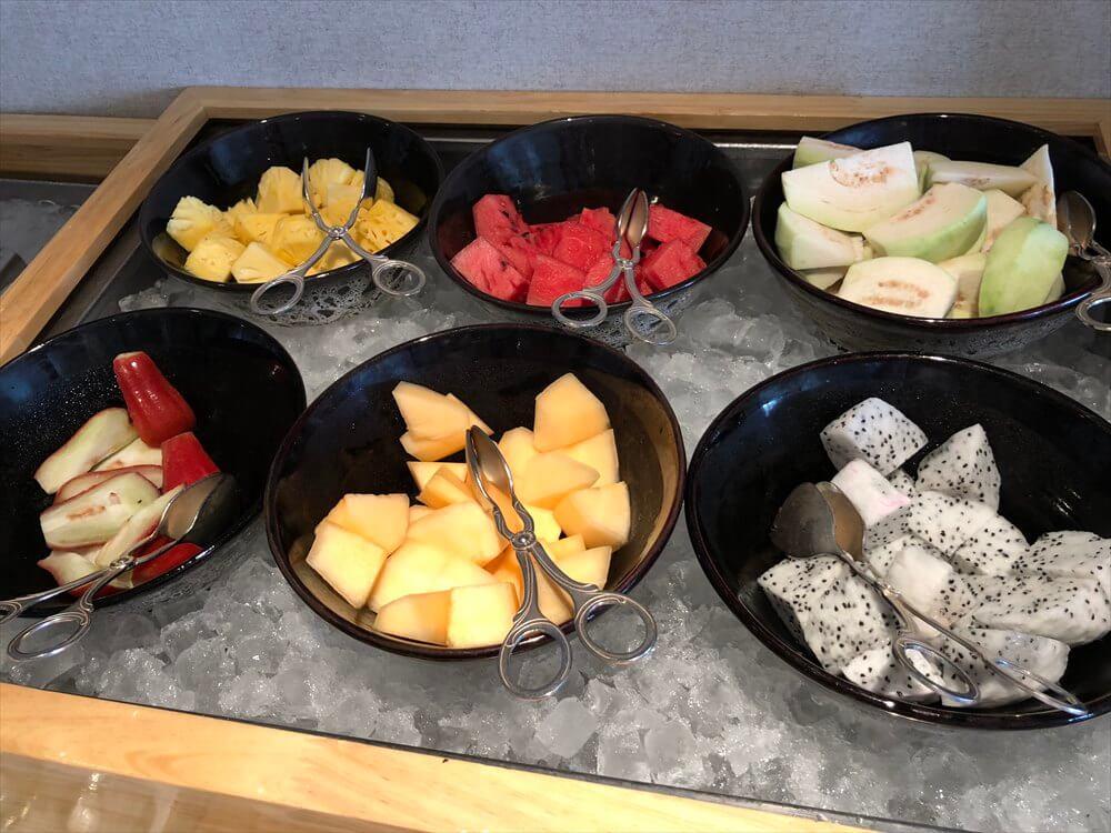 シェラトンハノイホテルのクラブラウンジの朝食3