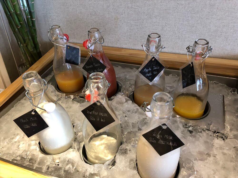 シェラトンハノイホテルのクラブラウンジの朝食8