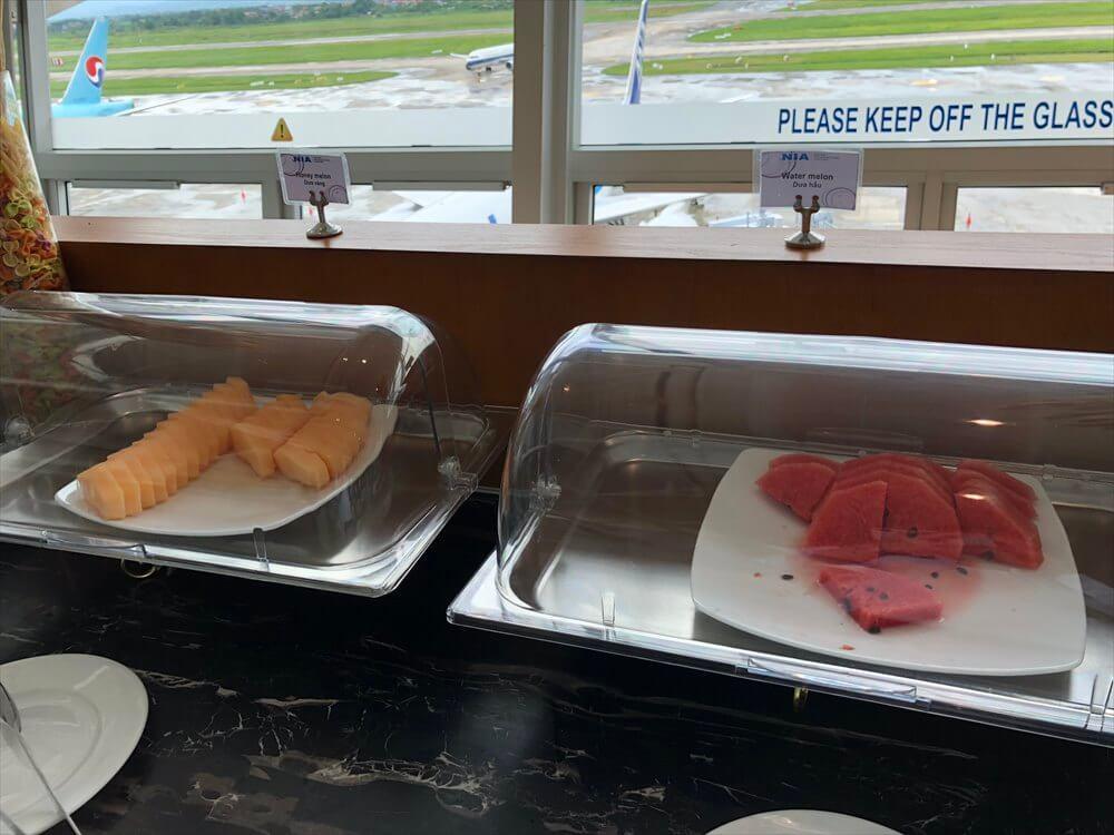 ノイバイ国際空港のACVビジネスラウンジの内観7