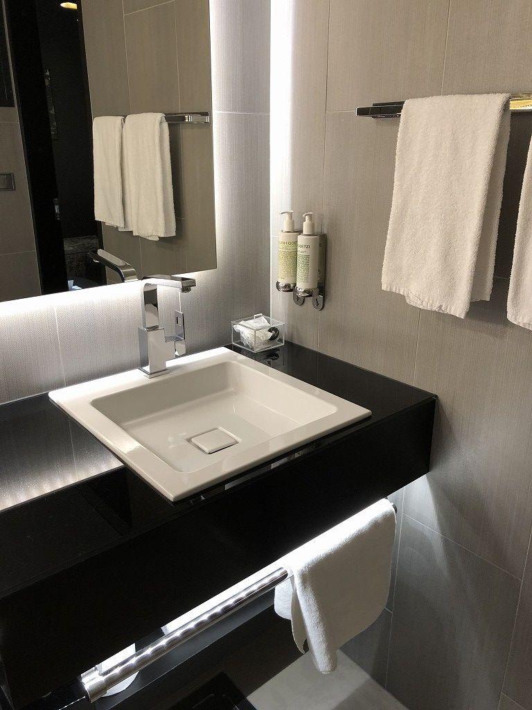 ヘルシンキ・クラウスKホテルのPassion Miniの洗面所