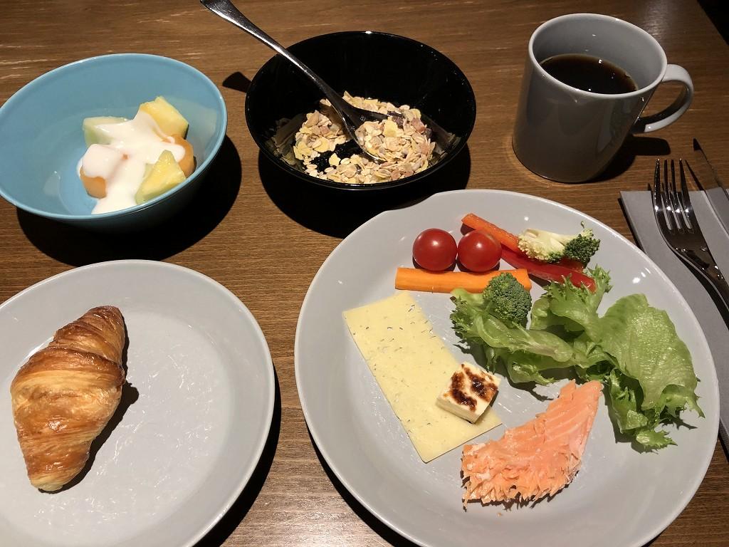クラウスKホテル ヘルシンキの朝食