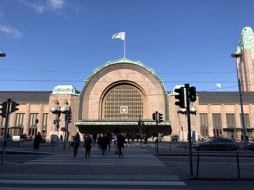 フィンランド中央駅1