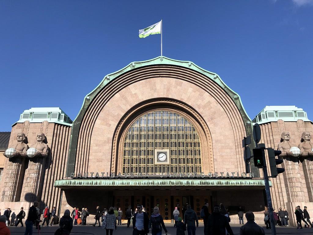フィンランド中央駅2