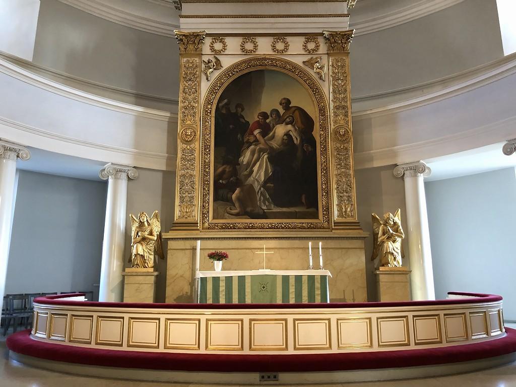 ヘルシンキ大聖堂の内部1