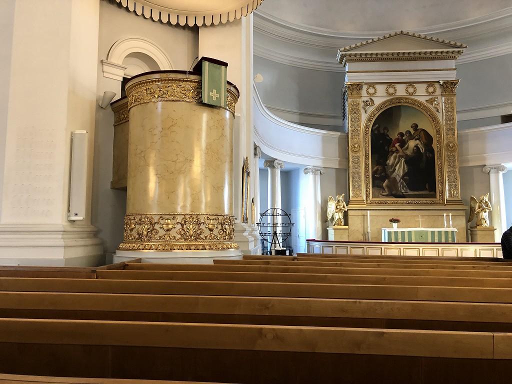 ヘルシンキ大聖堂の内部2