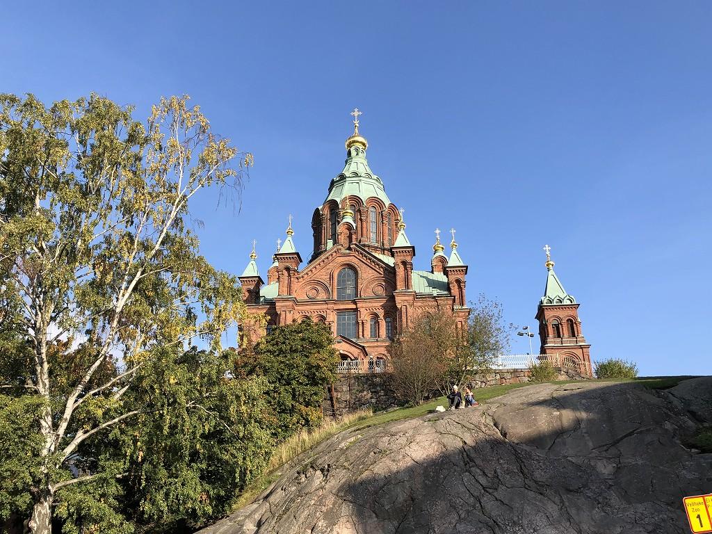 ヘルシンキのウスペンスキー寺院1