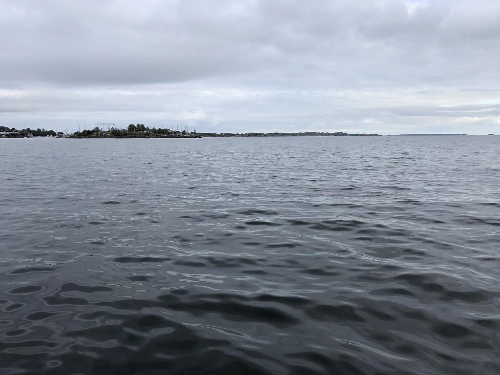 ヘルシンキのサウナ「ロウリュ」の海3