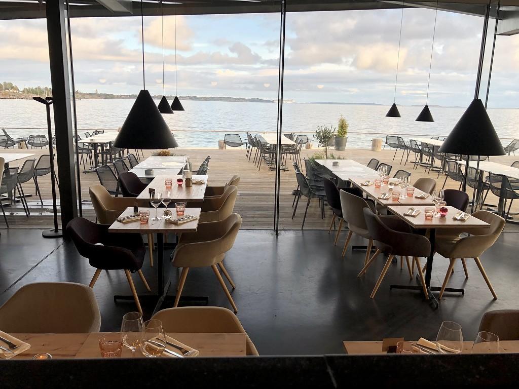 ヘルシンキのサウナ「ロウリュ」の併設レストラン2