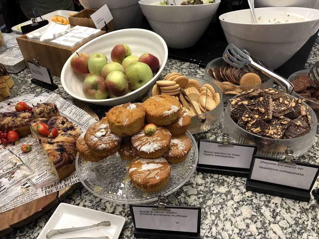 ヘルシンキヴァンター空港の食べ物1