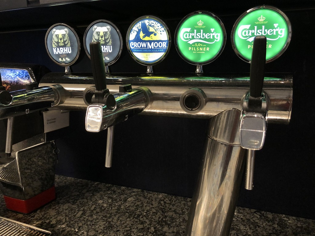 ヘルシンキヴァンター空港のビール