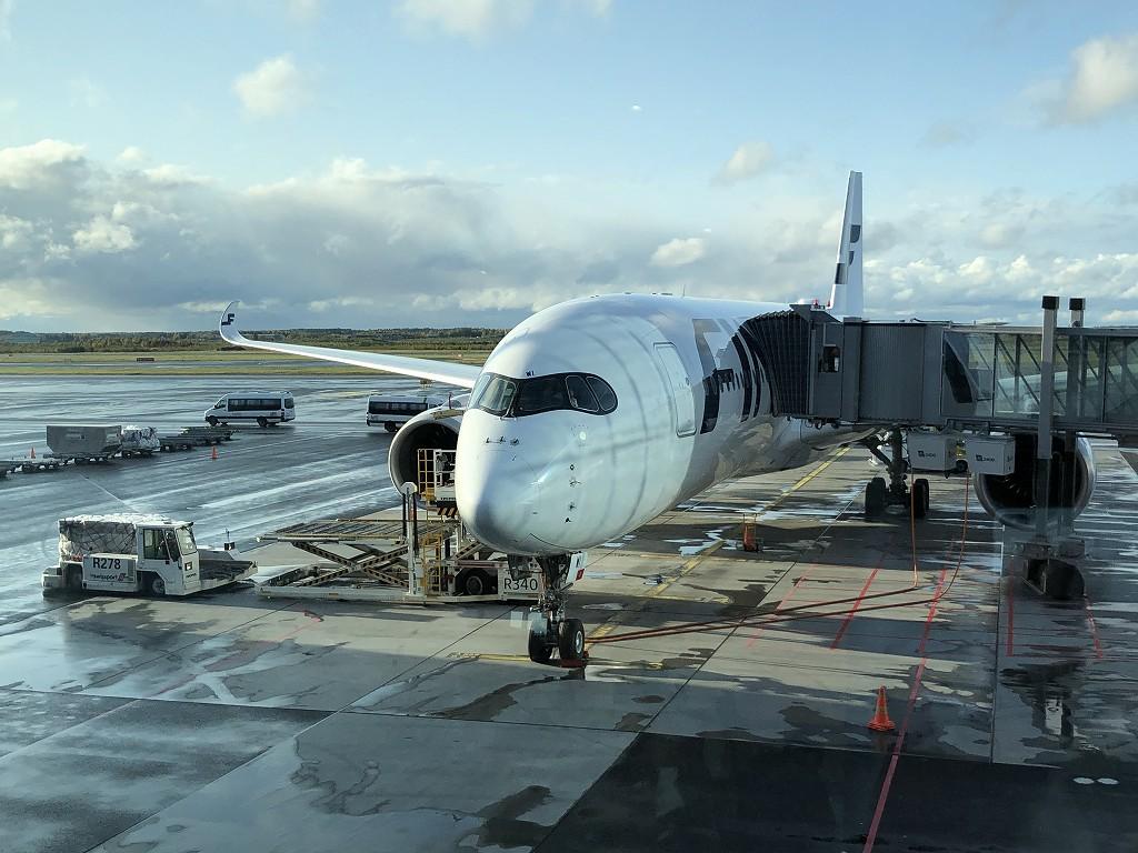 ヘルシンキヴァンター空港のフィンエアーA359