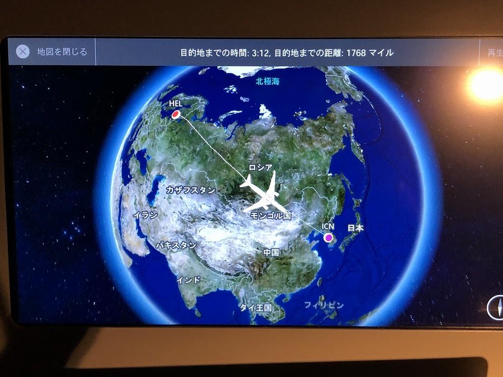 フィンエアーAY41便の現在位置