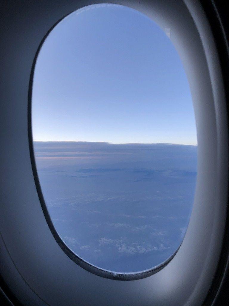 フィンエアーAY41便ビジネスクラスからの景色