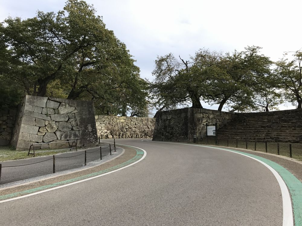 京橋口門と雁木