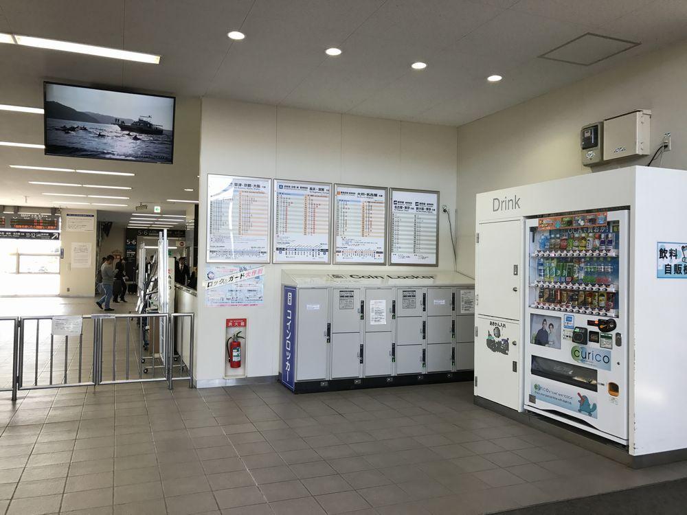 米原駅のコインロッカー