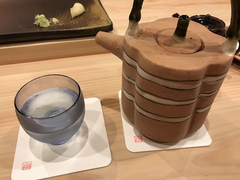鮨 十兵衛の早瀬浦の純米吟醸