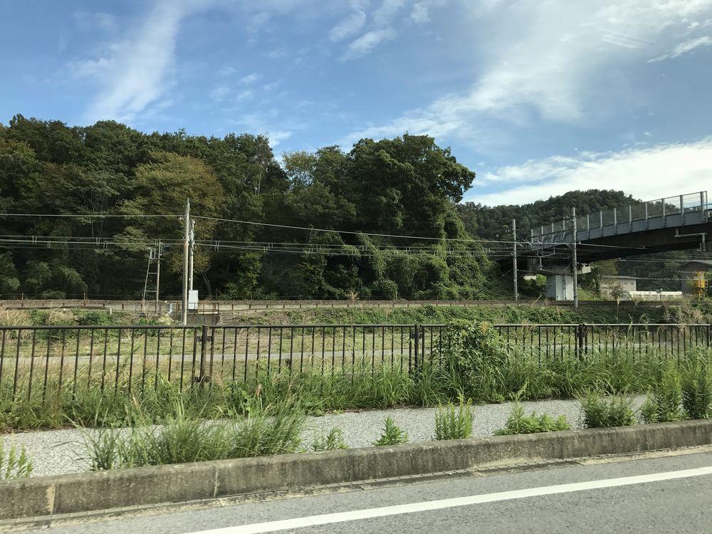 東海道本線と佐和山