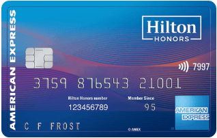 Hilton Honors American Express Surpass Card券面デザイン