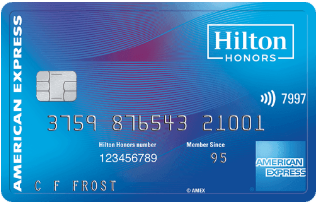 Hilton Honors American Express Card券面デザイン