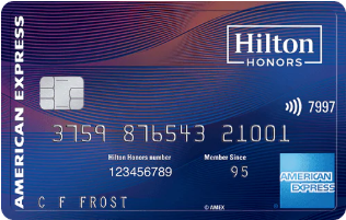 Hilton Honors American Express Aspire Card券面デザイン