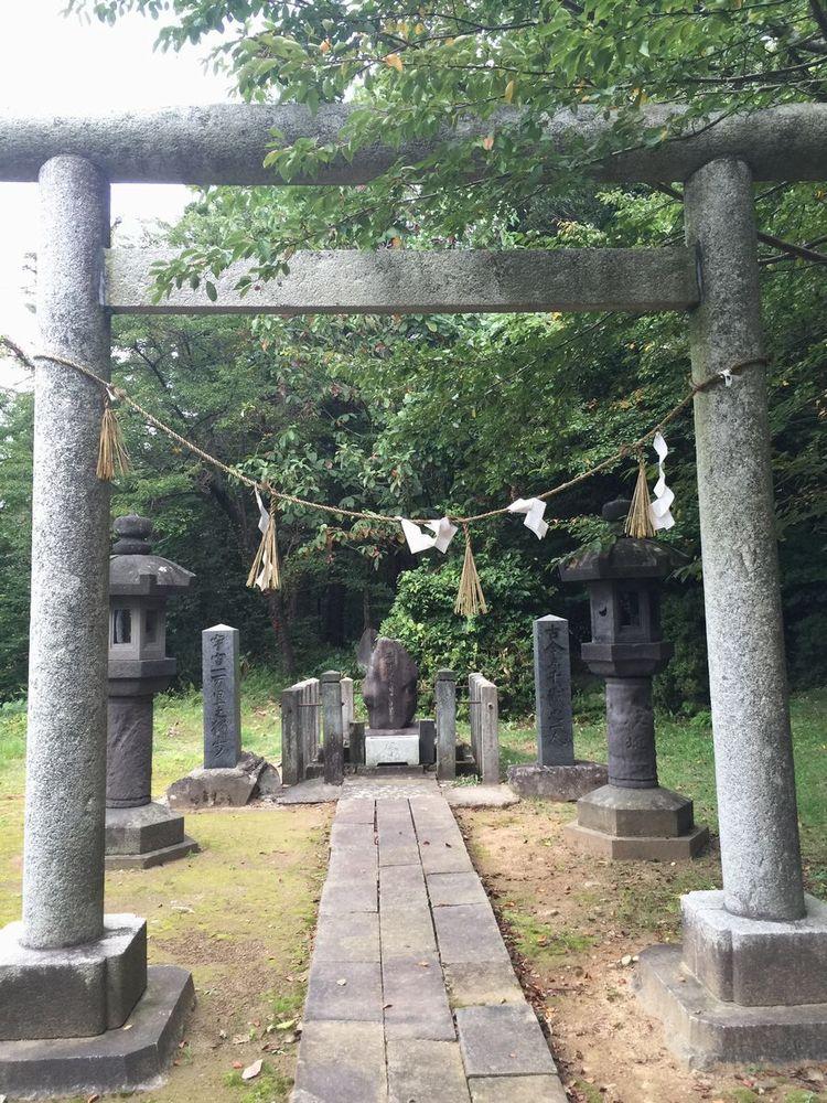 平田篤胤の墓所