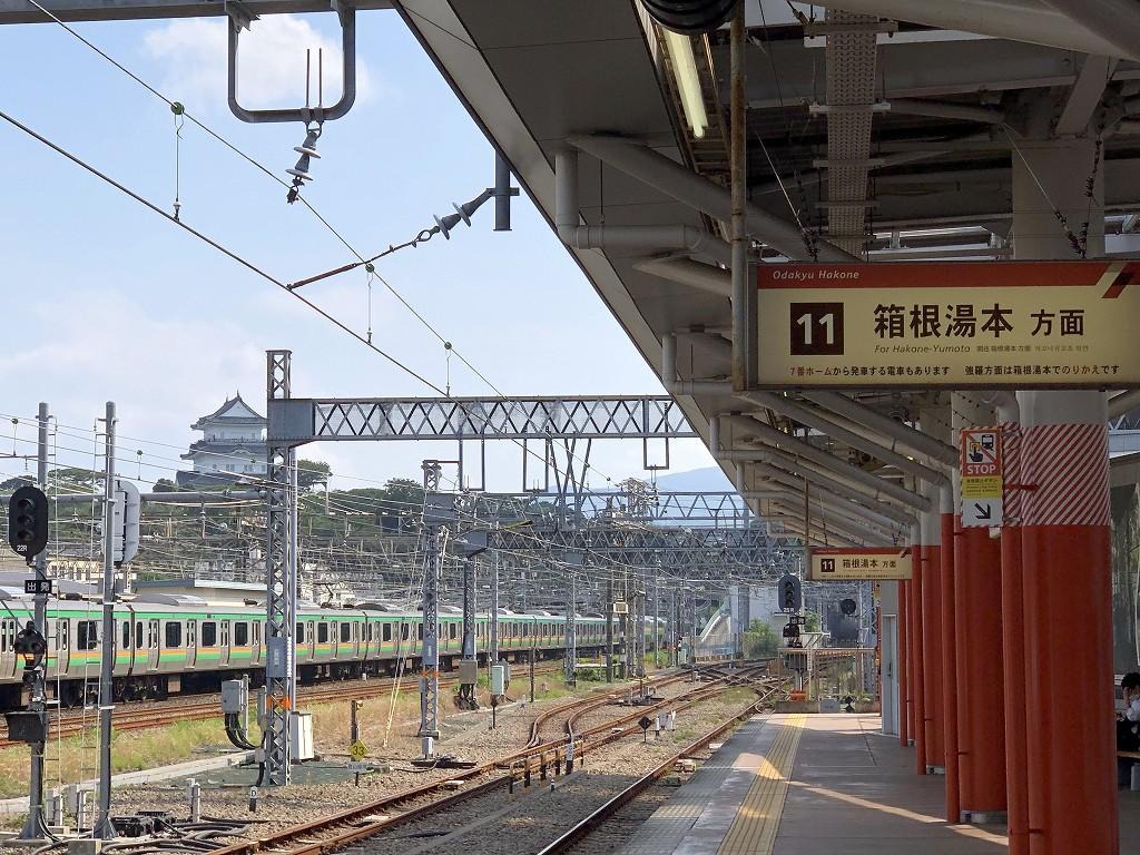 小田原駅から小田原城