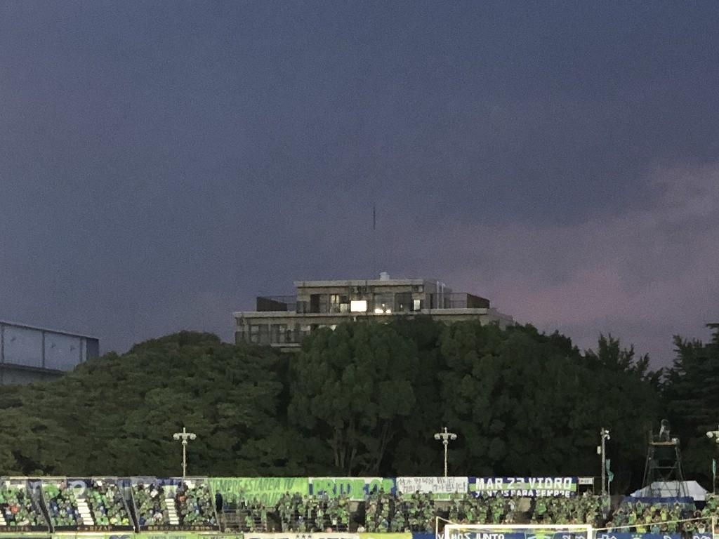 平塚のレモンガススタジアムでベルマーレvsFC東京戦6
