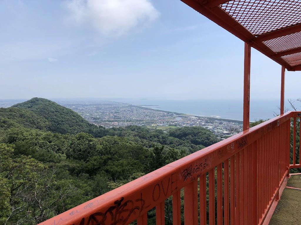 湘南平のテレビ塔から相模湾1