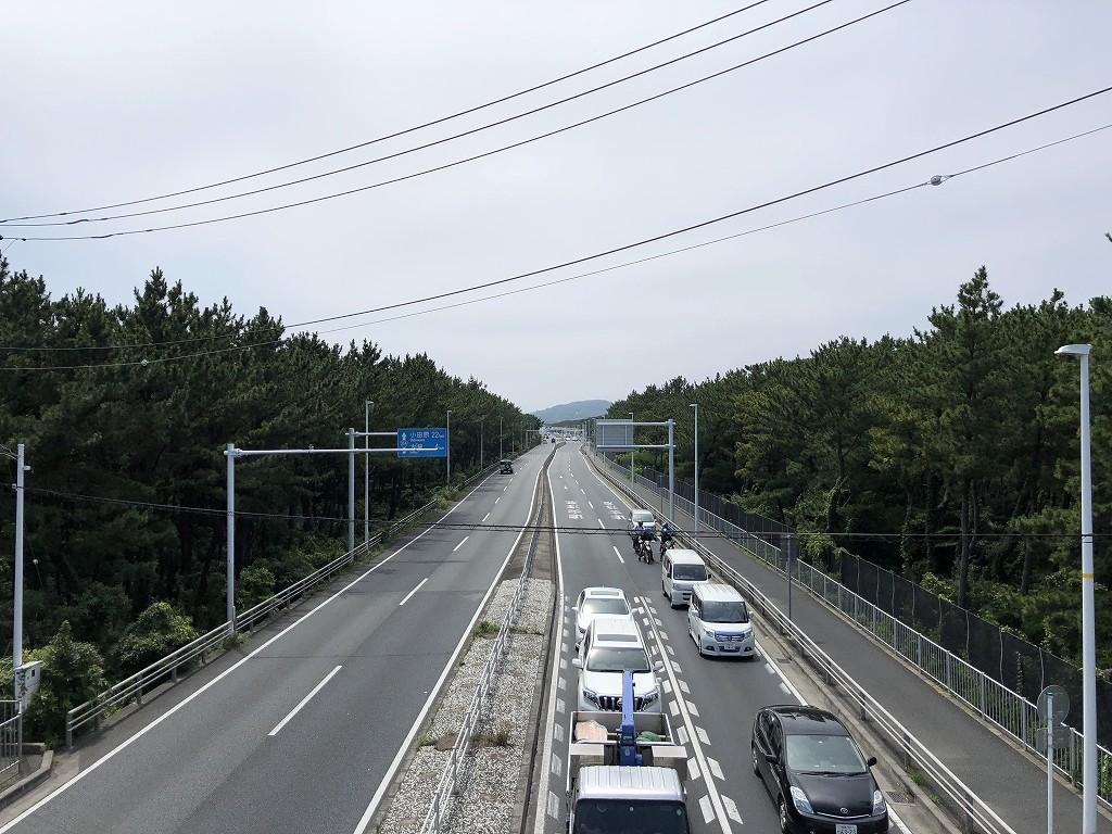 平塚市の高浜台歩道橋2