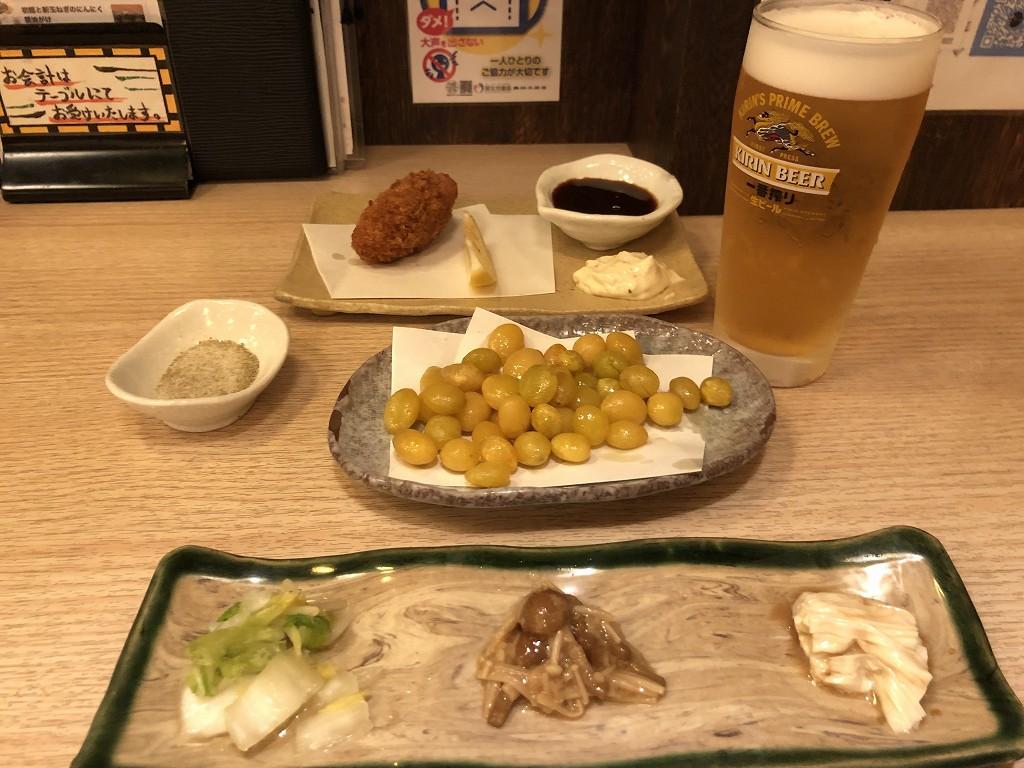 平塚の「芳べえ」で晩飯1