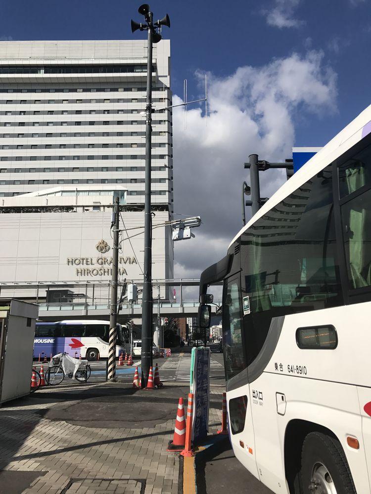 ホテルグランヴィア広島の外観